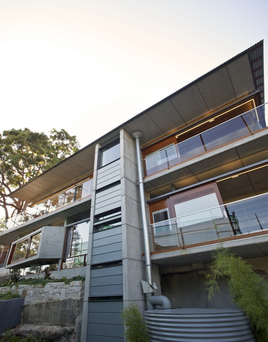 Angophora house richard cole architecture sydney architects Better homes and gardens channel 7